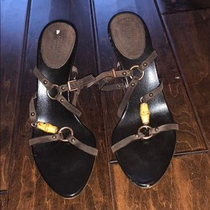 Gucci Heeled Sandals Size 7